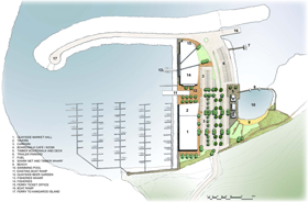 Marina St Vincent - Facilities Map